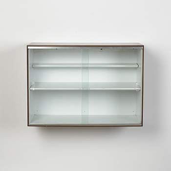 Thin Edge display cabinet