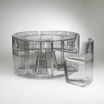 Pantonova dining set by Wright