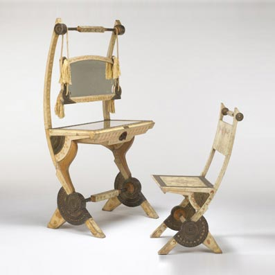 Wright-Lady's dressing table/chair