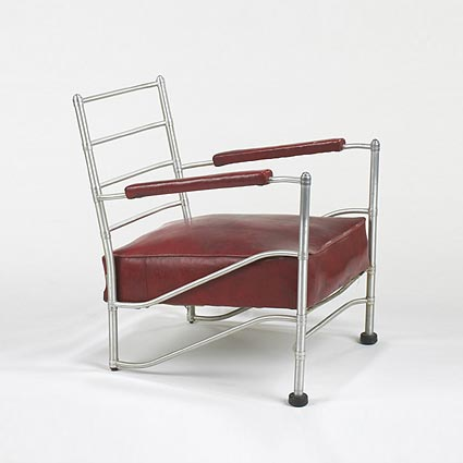 Light Lounge chair, model 1014