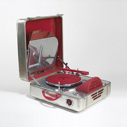 Portable phonograph