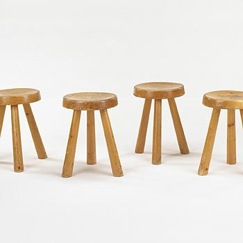 Stools, set of four