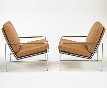 Lounge chairs, model 6720-A di Wright