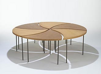 Tables, set of six