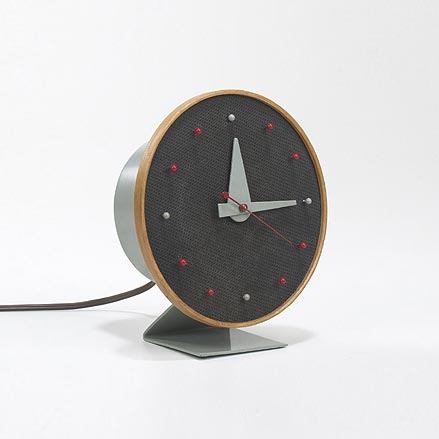 Masonite table clock, no. 4767 by Wright