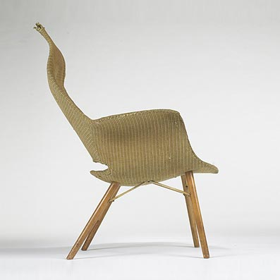 organic furniture design. Organic Design High Back Armchair By Wright Furniture