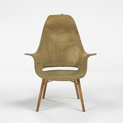 Organic Design High back armchair di Wright