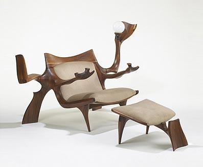 Custom lounge chair/ottoman