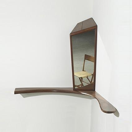 Console / Mirrored Cabinet