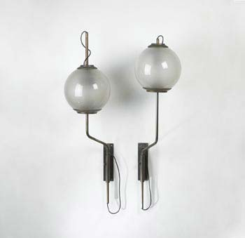 LP 11 lamps, pair