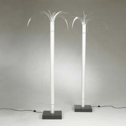 Sanremo floor lamps, pair