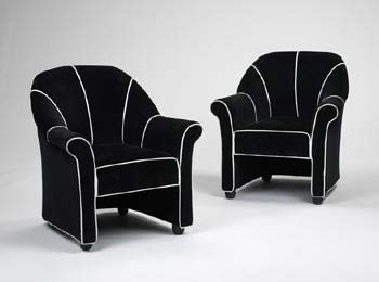 Lounge chairs for the Morgans Hotel