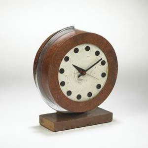 World's Fair series table clock
