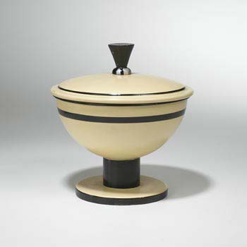Lidded bowl