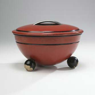 Lidded bowl, model 1321