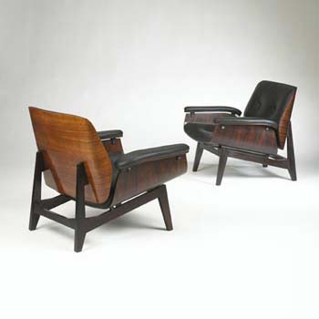 Wright-Lounge chairs, pair