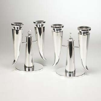 Candlesticks, pair