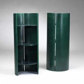 Gea shelves, pair by Wright