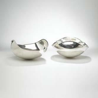 Bowls, pair