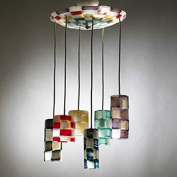 Pezzati chandelier