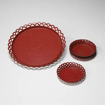 Serving tray / Six coasters