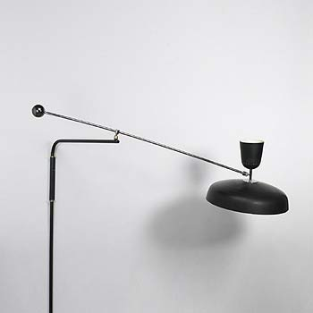 Adjustable arm lamp