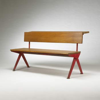 Bench console for Electricite de France