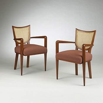 Ecussons chairs, pair