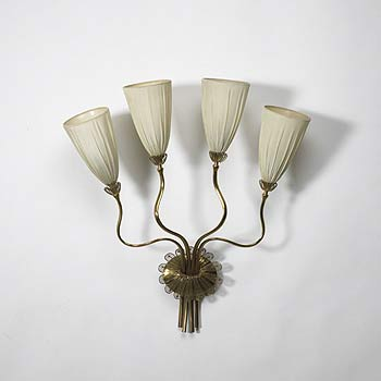 Four arm sconce