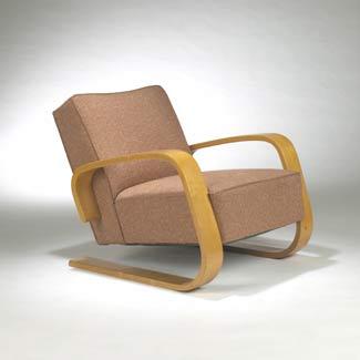 Tank armchair, model no.400