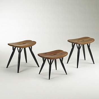 Pirkka stools, set of three