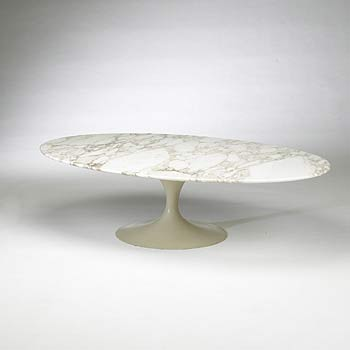 Wright-Pedestal coffee table, model 167M