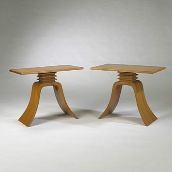 End tables, pair