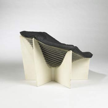 Spider lounge chair by Wright