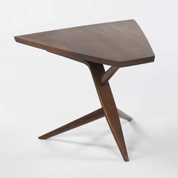 Conoid Cross-legged End Table I