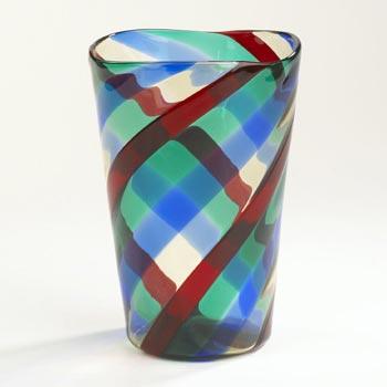 Fasce Diagonale vase