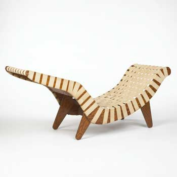 Chaise lounge by Wright
