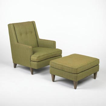 Lounge chair/ottoman
