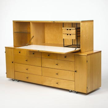Desk cabinet by Wright