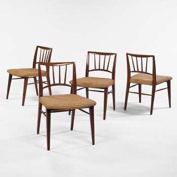 Dining chairs by Wright