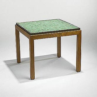 Tile table de Wright