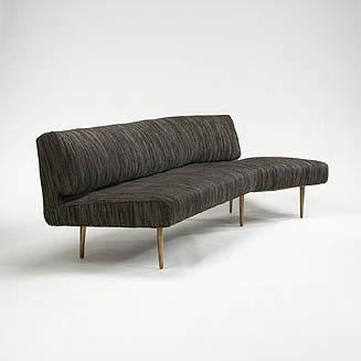 Wing-Shaped Sofa by Wright