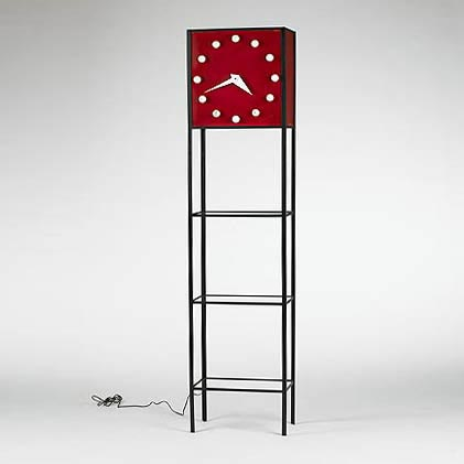 Shelf/clock