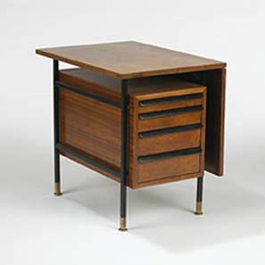 Drop leaf cabinet by Wright