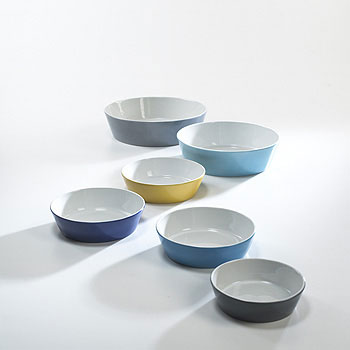 Bowls, set of six