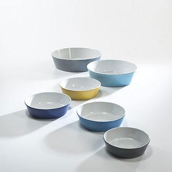 Bowls, set of six