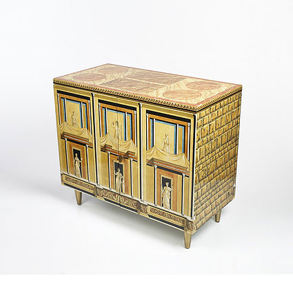 Pompeian cabinet