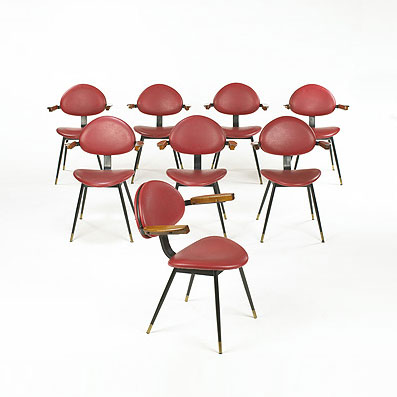 Dining chairs from Lutrario Hall
