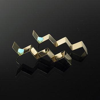 Wright-Earrings, pair
