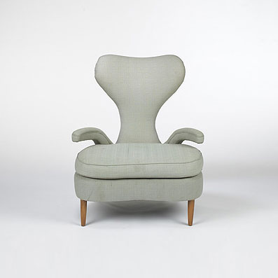 Armchair from the Hotel San Remo